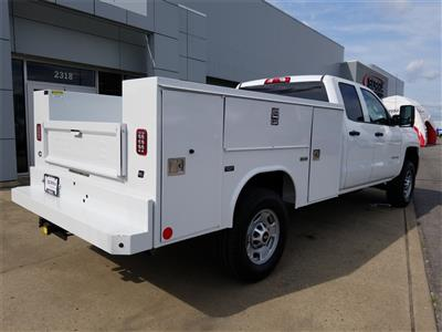 2018 Silverado 2500 Double Cab 4x4,  Reading SL Service Body #C81986 - photo 2