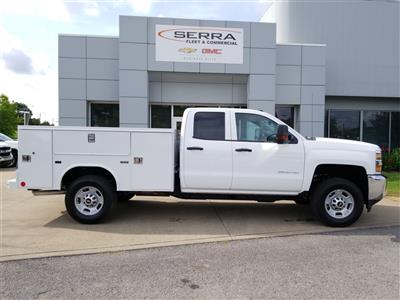 2018 Silverado 2500 Double Cab 4x4,  Reading SL Service Body #C81986 - photo 8