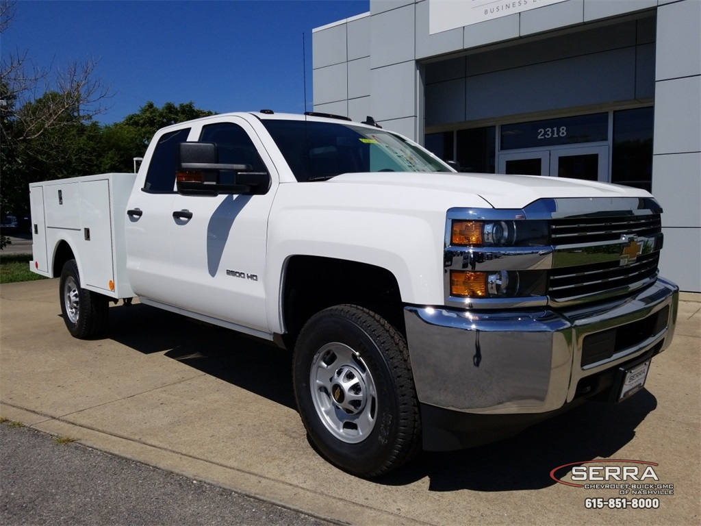 2018 Silverado 2500 Double Cab 4x4,  Warner Select II Service Body #C82023 - photo 1