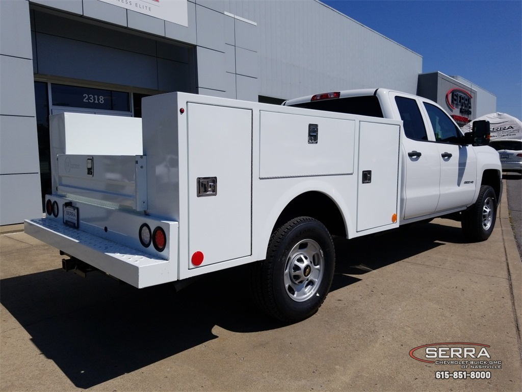 2018 Silverado 2500 Double Cab 4x4,  Warner Select II Service Body #C82023 - photo 2
