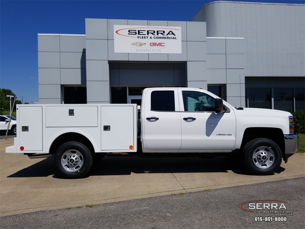 2018 Silverado 2500 Double Cab 4x4,  Warner Select II Service Body #C82023 - photo 8