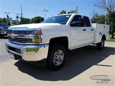 2018 Silverado 2500 Double Cab 4x4,  Warner Select II Service Body #C82023 - photo 4
