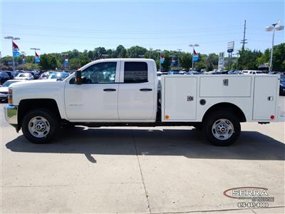 2018 Silverado 2500 Double Cab 4x4,  Warner Select II Service Body #C82023 - photo 5