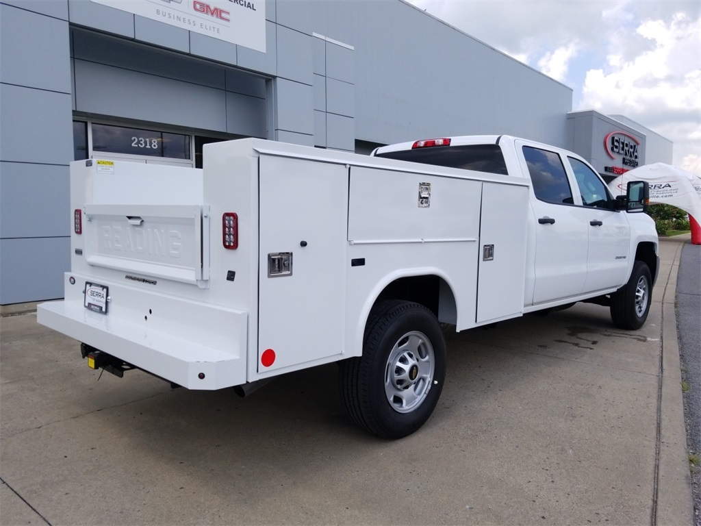 2018 Silverado 2500 Crew Cab 4x2,  Reading SL Service Body #C82235 - photo 2