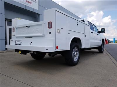 2018 Silverado 2500 Crew Cab 4x2,  Reading SL Service Body #C82235 - photo 9