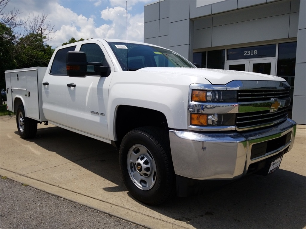 2018 Silverado 2500 Crew Cab 4x4,  Service Body #C82236 - photo 1