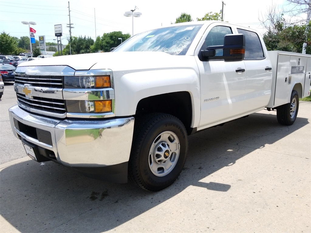 2018 Silverado 2500 Crew Cab 4x4,  Service Body #C82236 - photo 4