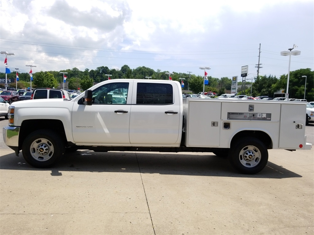 2018 Silverado 2500 Crew Cab 4x4,  Service Body #C82236 - photo 5