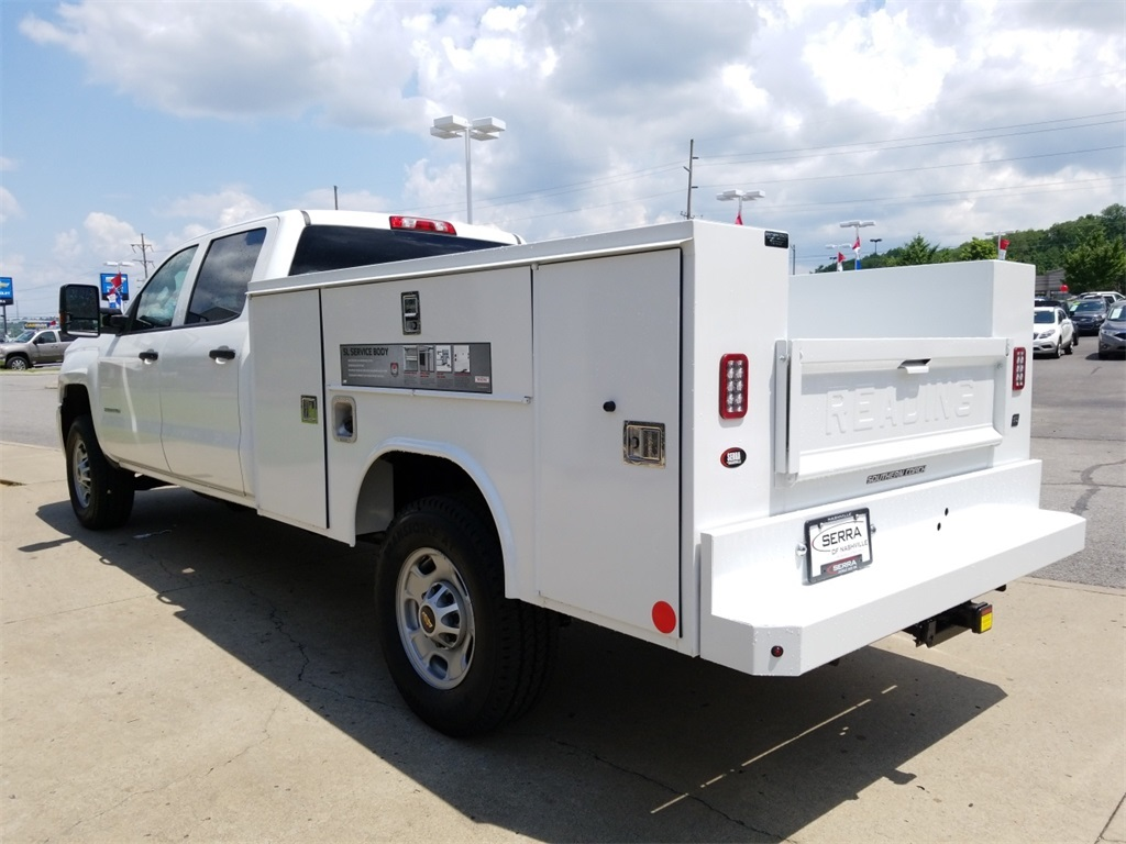 2018 Silverado 2500 Crew Cab 4x4,  Service Body #C82236 - photo 6