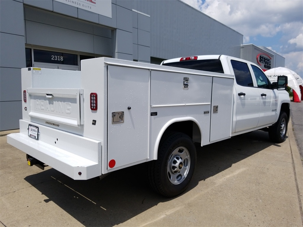 2018 Silverado 2500 Crew Cab 4x4,  Service Body #C82236 - photo 2