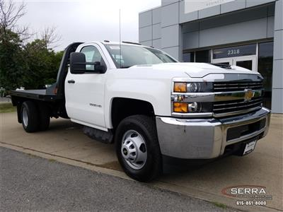 2018 Silverado 3500 Regular Cab DRW 4x2,  Southern Coach Platform Body #C82460 - photo 1