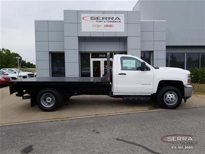 2018 Silverado 3500 Regular Cab DRW 4x2,  Southern Coach Platform Body #C82460 - photo 8