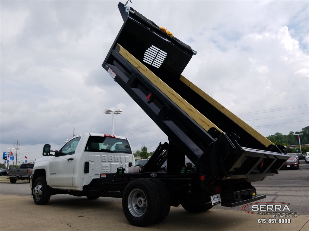 2018 Silverado 3500 Regular Cab DRW 4x2,  Freedom Dump Body #C82475 - photo 19