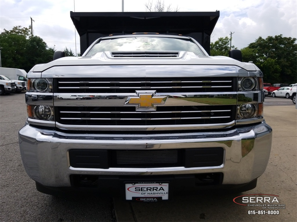 2018 Silverado 3500 Regular Cab DRW 4x2,  Freedom Dump Body #C82475 - photo 3