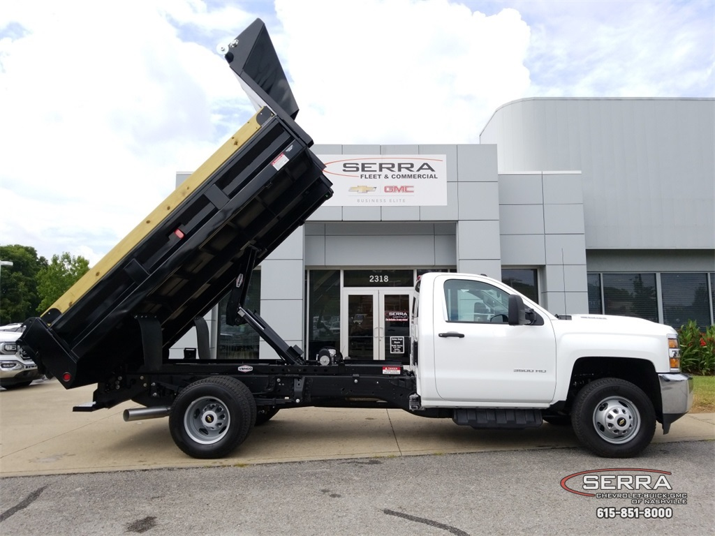2018 Silverado 3500 Regular Cab DRW 4x2,  Freedom Dump Body #C82475 - photo 20