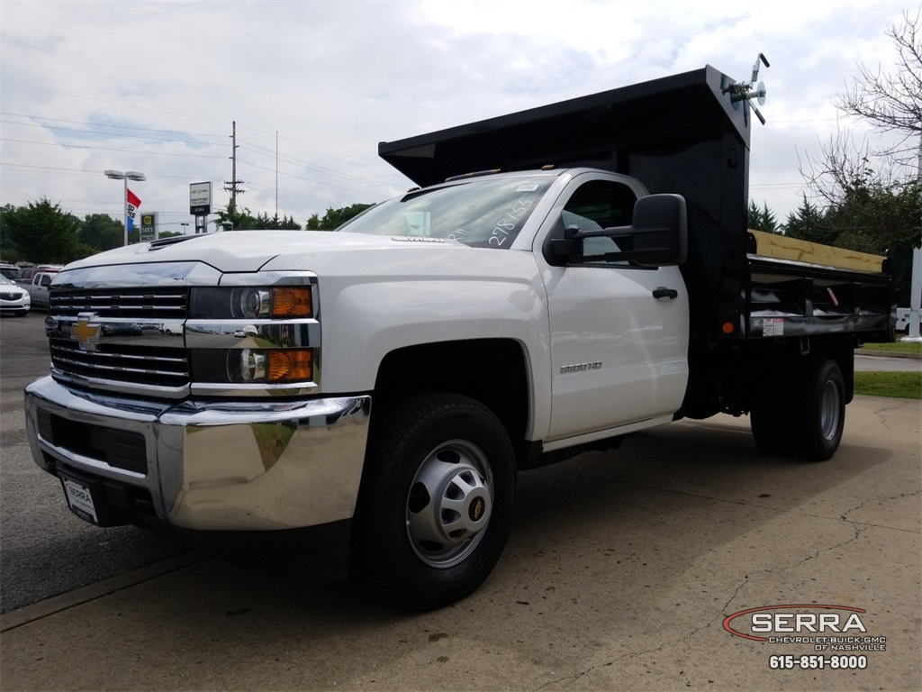 2018 Silverado 3500 Regular Cab DRW 4x2,  Freedom Dump Body #C82475 - photo 4