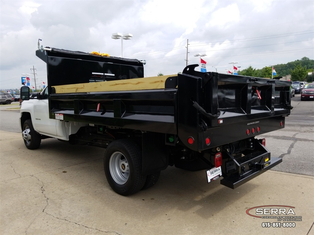 2018 Silverado 3500 Regular Cab DRW 4x2,  Freedom Dump Body #C82475 - photo 6