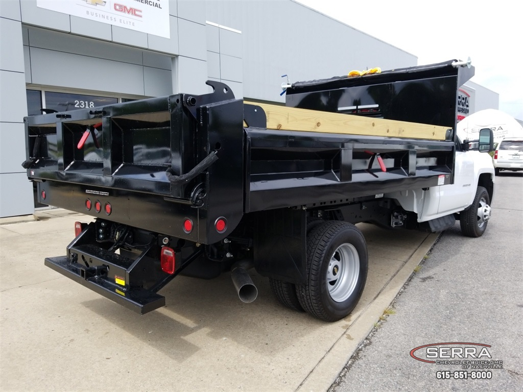 2018 Silverado 3500 Regular Cab DRW 4x2,  Freedom Dump Body #C82475 - photo 2