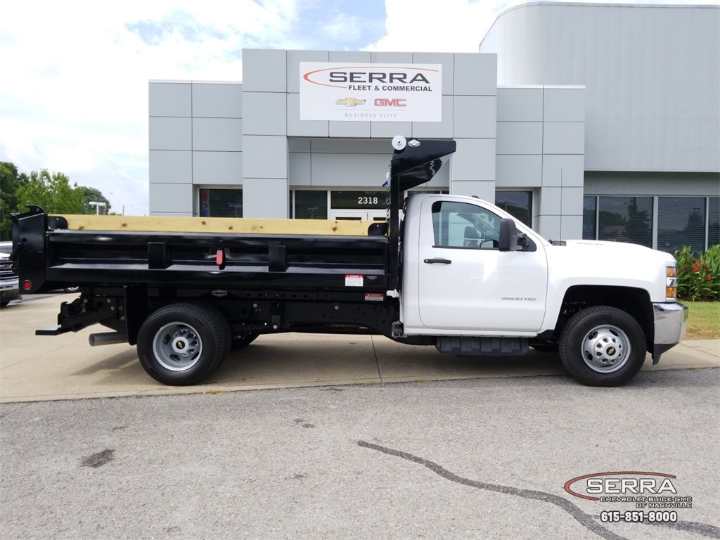 2018 Silverado 3500 Regular Cab DRW 4x2,  Freedom Dump Body #C82475 - photo 8