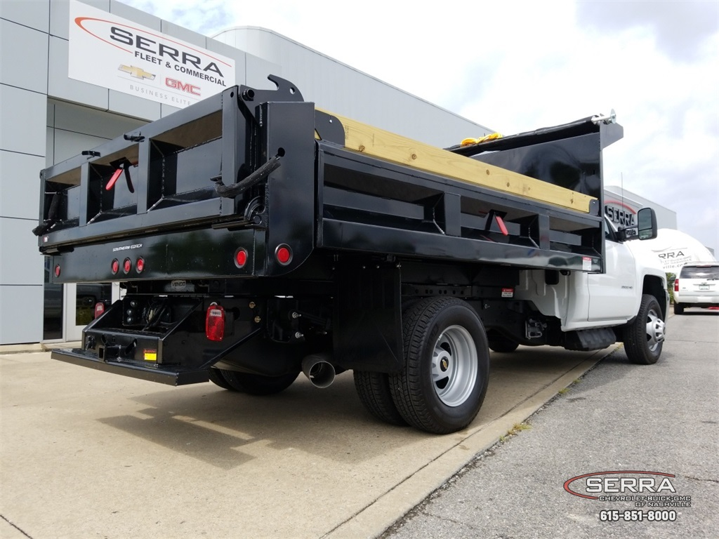 2018 Silverado 3500 Regular Cab DRW 4x2,  Freedom Dump Body #C82475 - photo 9