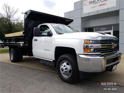2018 Silverado 3500 Regular Cab DRW 4x2,  Freedom LoadPro Dump Body #C82475 - photo 1