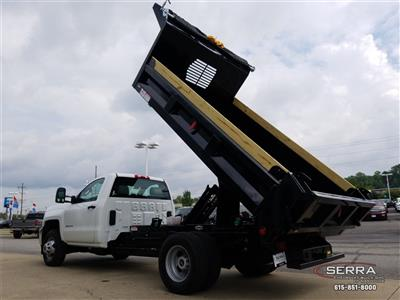 2018 Silverado 3500 Regular Cab DRW 4x2,  Freedom LoadPro Dump Body #C82475 - photo 19