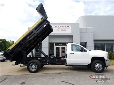 2018 Silverado 3500 Regular Cab DRW 4x2,  Freedom LoadPro Dump Body #C82475 - photo 20