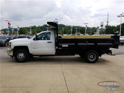 2018 Silverado 3500 Regular Cab DRW 4x2,  Freedom LoadPro Dump Body #C82475 - photo 5