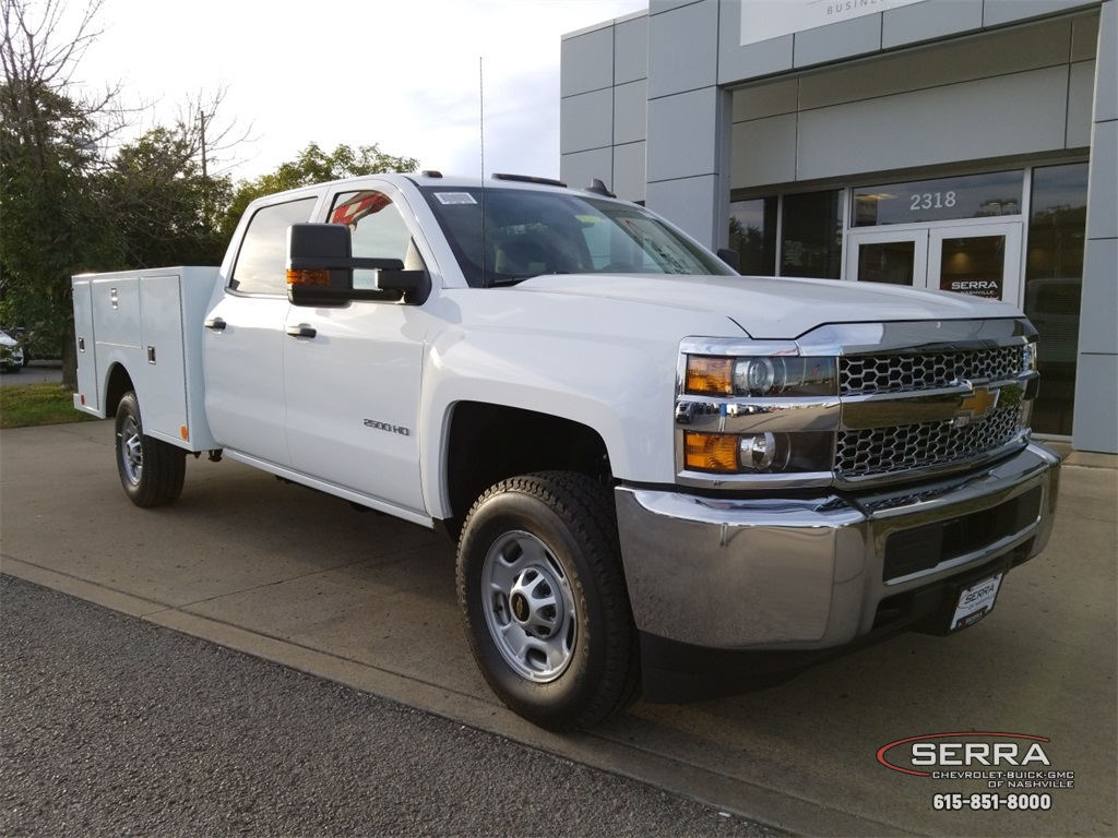 2019 Silverado 2500 Crew Cab 4x4,  Warner Service Body #C92352 - photo 1