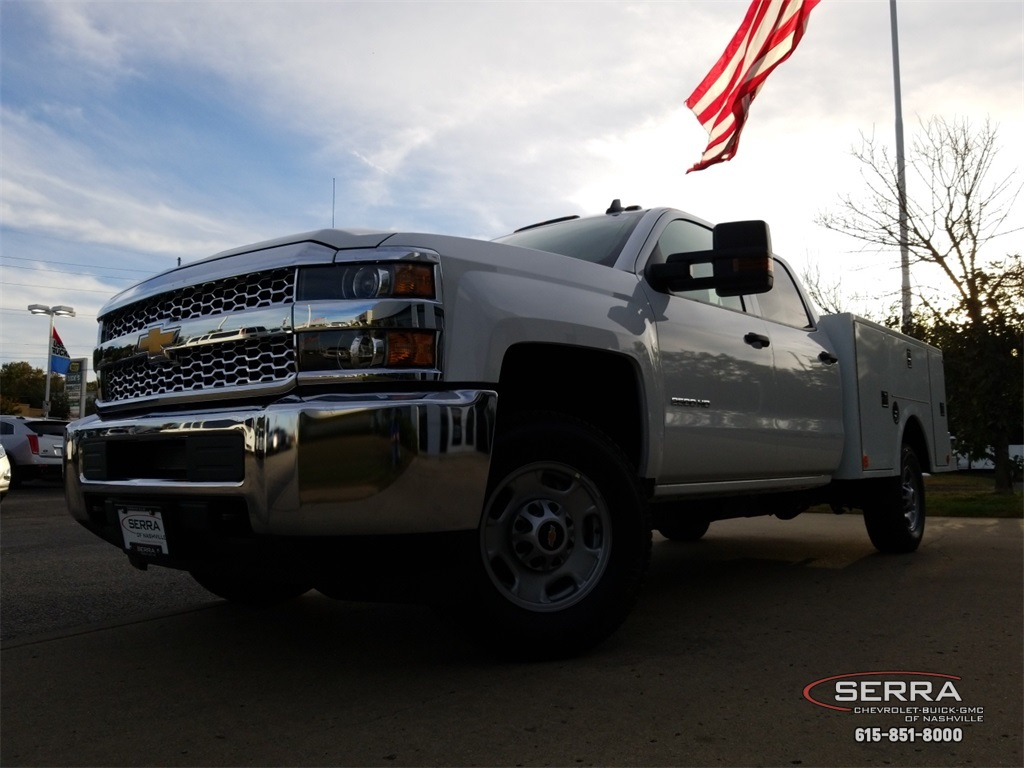 2019 Silverado 2500 Crew Cab 4x4,  Warner Select II Service Body #C92352 - photo 16