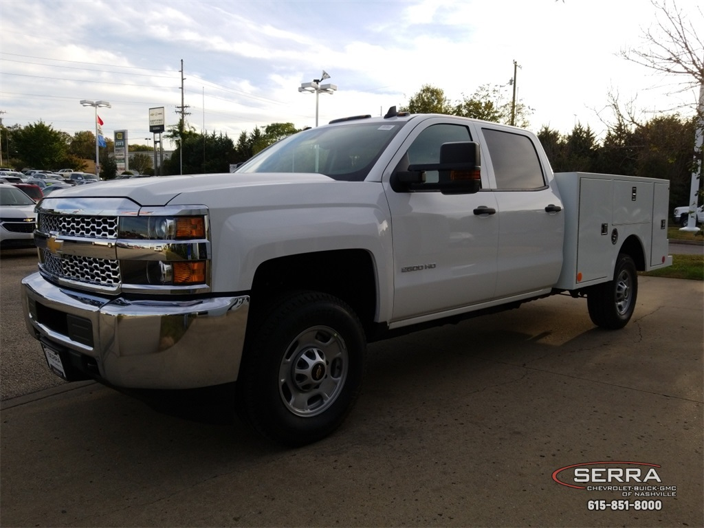 2019 Silverado 2500 Crew Cab 4x4,  Warner Select II Service Body #C92352 - photo 4
