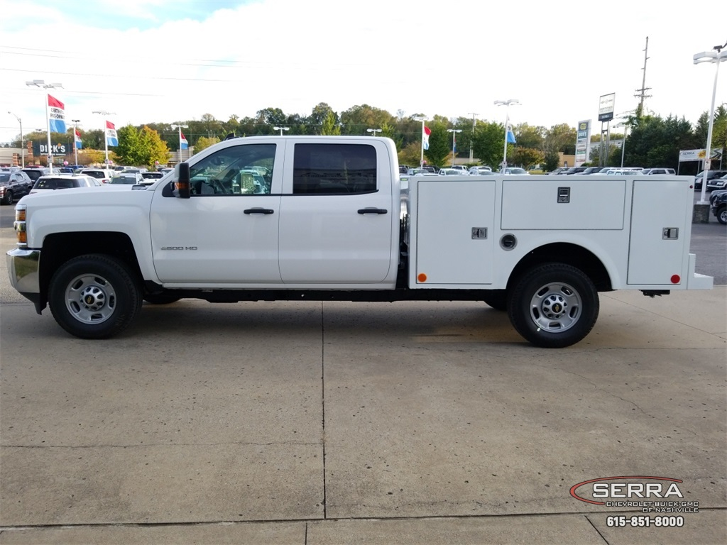 2019 Silverado 2500 Crew Cab 4x4,  Warner Select II Service Body #C92352 - photo 5