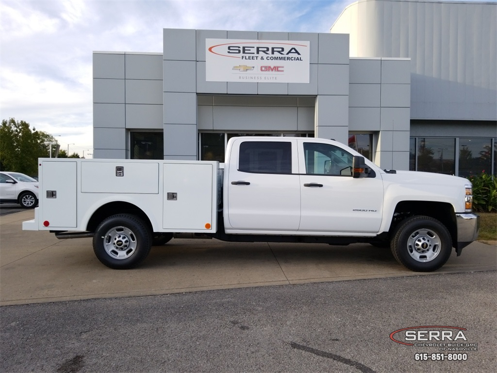 2019 Silverado 2500 Crew Cab 4x4,  Warner Select II Service Body #C92352 - photo 8