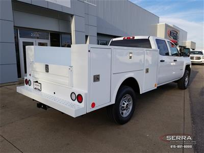 2019 Silverado 2500 Crew Cab 4x4,  Warner Select II Service Body #C92352 - photo 2