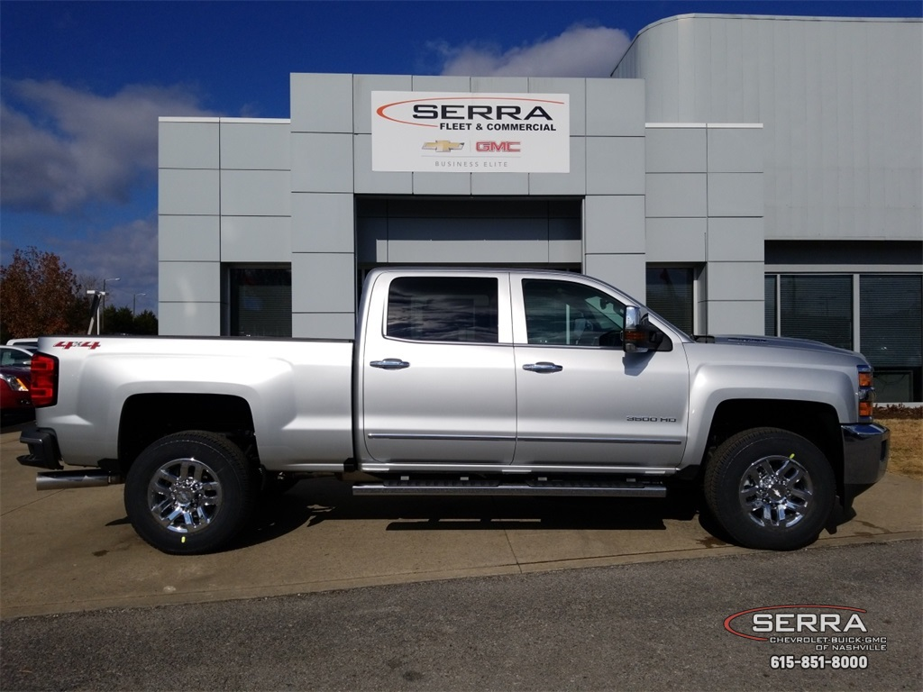 2019 Silverado 3500 Crew Cab 4x4,  Pickup #C92515 - photo 8