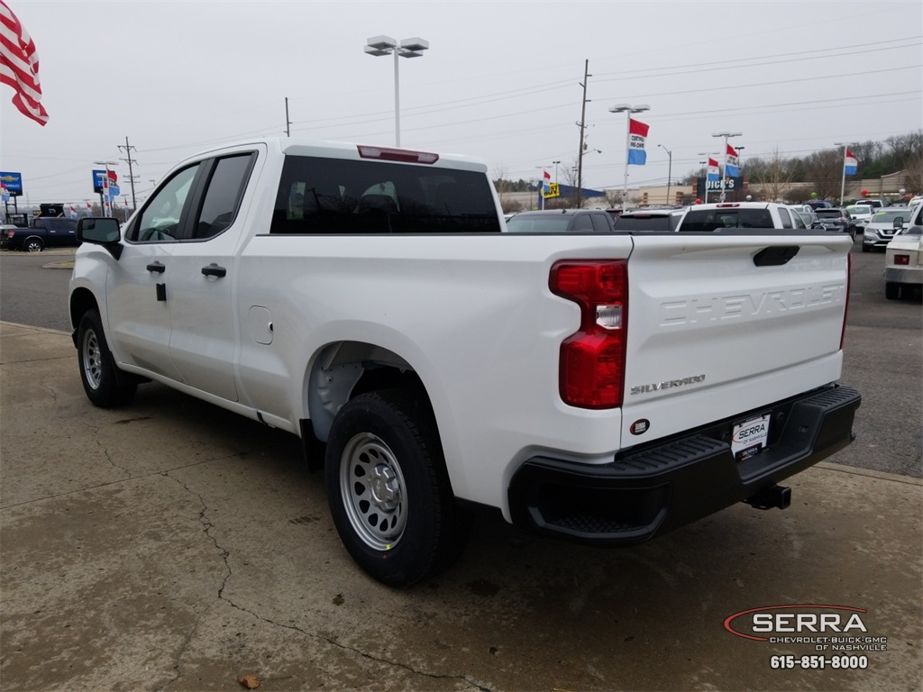 2019 Silverado 1500 Double Cab 4x2,  Pickup #C92630 - photo 6