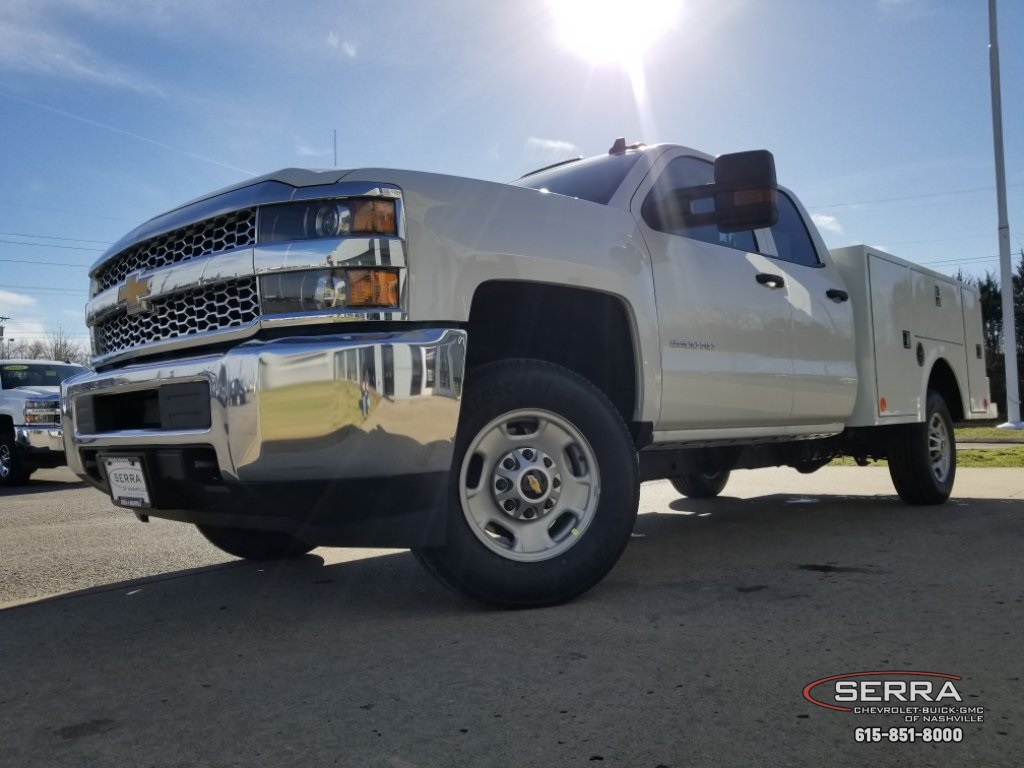 2019 Silverado 2500 Double Cab 4x2,  Warner Select II Service Body #C92633 - photo 31