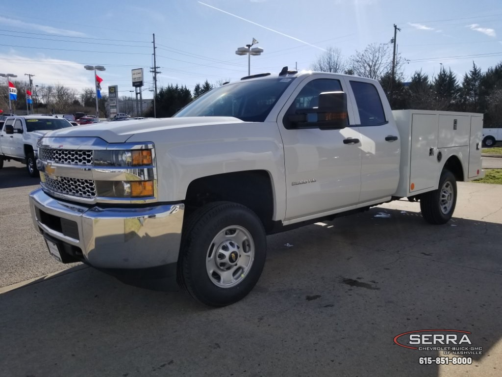 2019 Silverado 2500 Double Cab 4x2,  Warner Select II Service Body #C92633 - photo 6