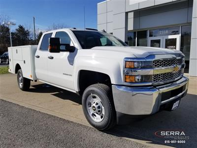 2019 Silverado 2500 Double Cab 4x2,  Warner Select II Service Body #C92633 - photo 1