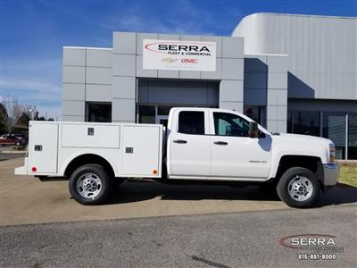 2019 Silverado 2500 Double Cab 4x2,  Warner Select II Service Body #C92633 - photo 15