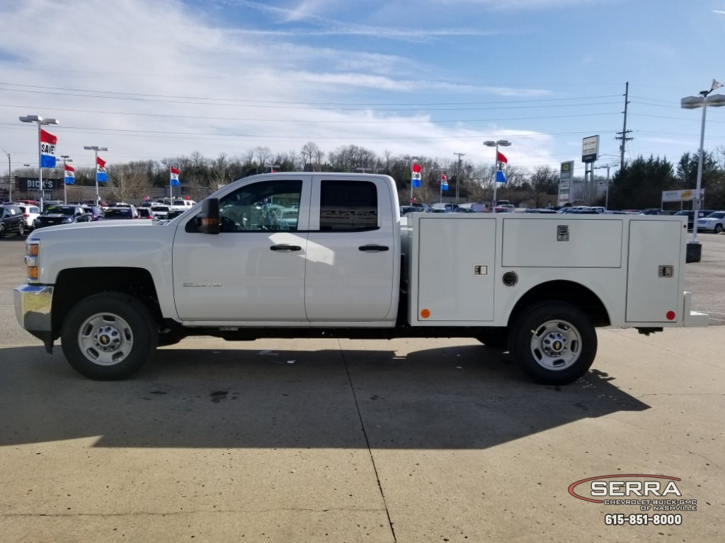 2019 Silverado 2500 Double Cab 4x2,  Warner Select II Service Body #C92638 - photo 9