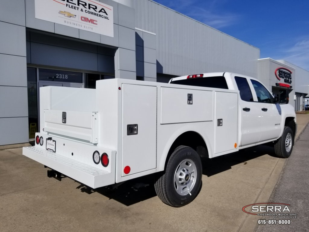 2019 Silverado 2500 Double Cab 4x2,  Warner Select II Service Body #C92638 - photo 15