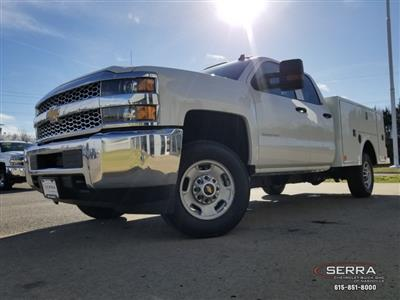 2019 Silverado 2500 Double Cab 4x2,  Warner Select II Service Body #C92638 - photo 31
