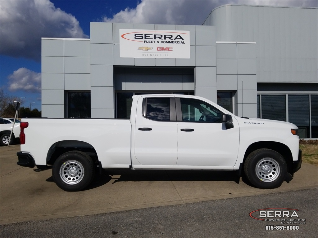 2019 Silverado 1500 Double Cab 4x2,  Pickup #C92655 - photo 8