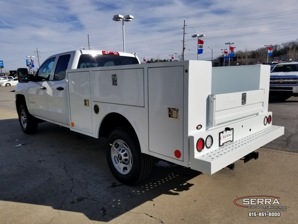 2019 Silverado 2500 Double Cab 4x2,  Warner Select II Service Body #C92656 - photo 11