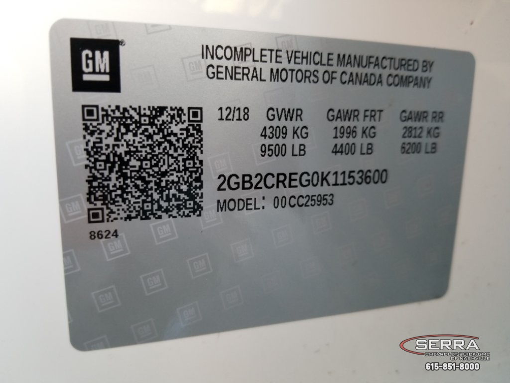 2019 Silverado 2500 Double Cab 4x2,  Warner Select II Service Body #C92656 - photo 4