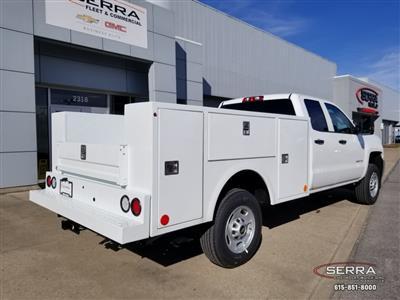 2019 Silverado 2500 Double Cab 4x2,  Warner Select II Service Body #C92656 - photo 2