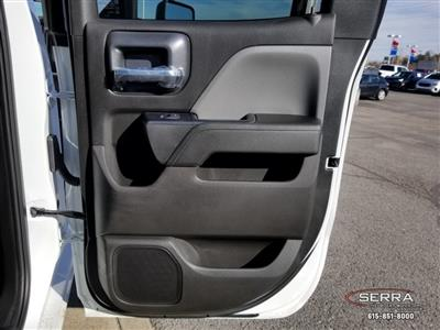2019 Silverado 2500 Double Cab 4x2,  Warner Select II Service Body #C92656 - photo 17