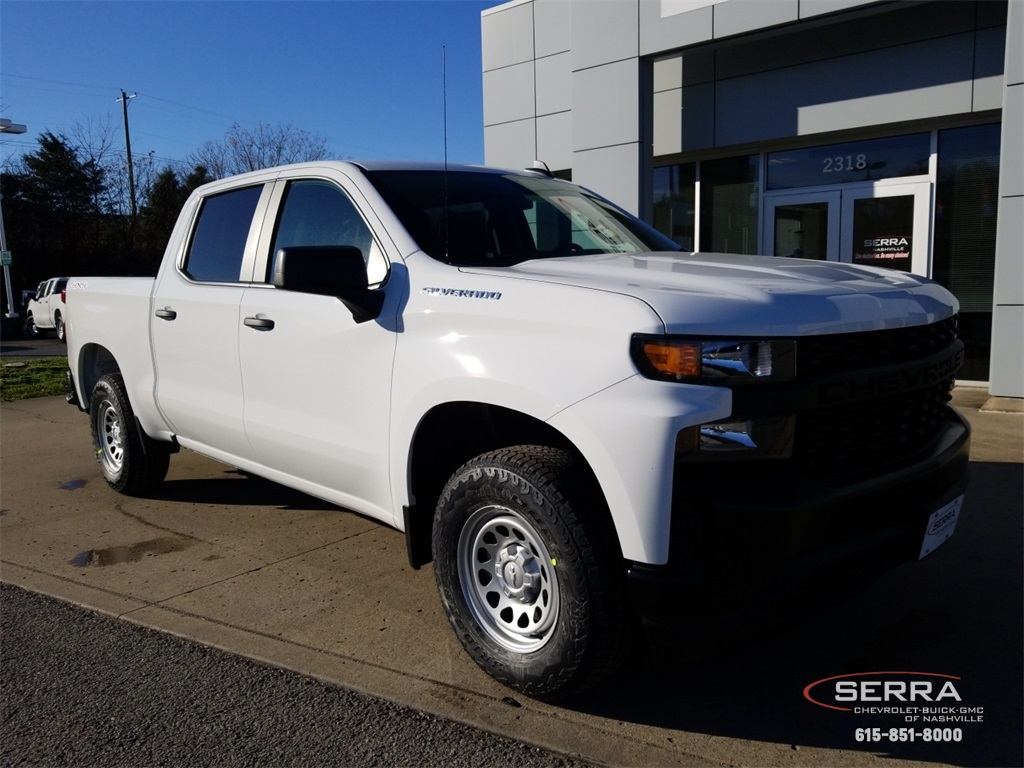 2019 Silverado 1500 Crew Cab 4x4,  Pickup #C92736 - photo 1
