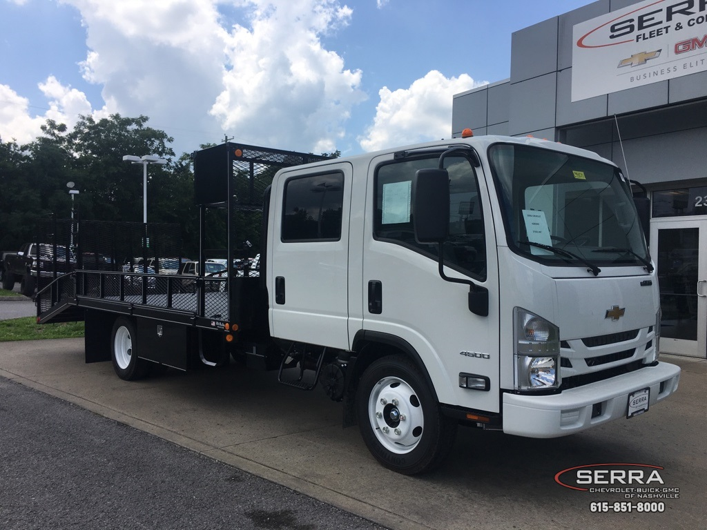 2019 LCF 4500 Crew Cab 4x2,  Wil-Ro Standard Dovetail Landscape #C95571 - photo 1